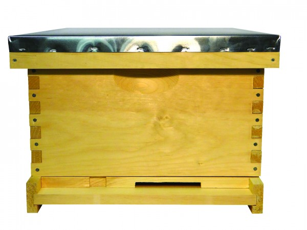 Complete Hive: 10 Frame Finger Joint Hive; Commercial Grade