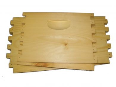 Finger Joint Hive Body; Commercial