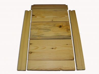 8 Frame Pine Hive Bottom - Commercial