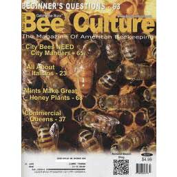 Bee Culture Magazine 1 year Subscription